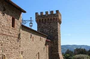 Castello di Amorosa, spectacular winery, but totally out of place.